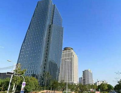 六安建設大廈-六安保潔公司—外墻保潔